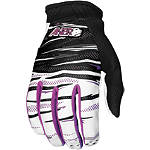 2012 Answer Purple Haze Gloves - Motocross Gloves