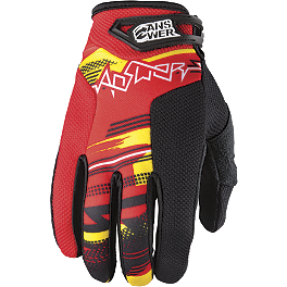 2012 Answer Syncron Gloves - 2013 MSR Axxis Gloves