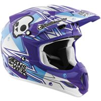 2012 Answer Comet Skullcandy Helmet