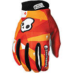 2012 Answer Skullcandy Gloves - Motocross Gloves