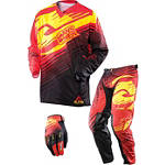 2013 Answer Alpha Combo - Discount & Sale Utility ATV Pants, Jersey, Glove Combos