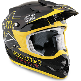 2013 Answer Comet Helmet - Rockstar V - 2014 One Industries Atom Helmet - Rockstar