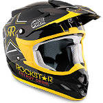 2013 Answer Comet Helmet - Rockstar V -  Dirt Bike Elbow and Wrist Guards