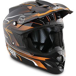 2013 Answer Comet Helmet - React - 2013 MSR Velocity Helmet