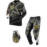 2013 Answer Rockstar MSN Collaboration Combo - Answer Rockstar ATV Pants, Jersey, Glove Combos
