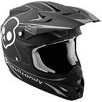 2013 Answer Skullcandy Comet Helmet -  Dirt Bike Elbow and Wrist Guards