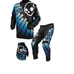 2013 Answer Skullcandy Equalizer Combo - Answer Skullcandy ATV Pants, Jersey, Glove Combos