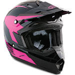 2013 Answer Women's Nova Helmet - Stealth - Dirt Bike Riding Gear