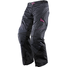 2014 Answer Women's Mode Pants - 2013 Fly Racing Women's Kinetic Over-Boot Pants