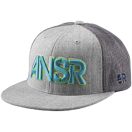 Answer Breezy Snapback Hat - Answer Stencil Flexfit Hat