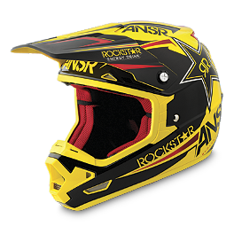 2014 Answer Evolve Helmet - Rockstar VI - 2014 MSR Metal Mulisha Hunt Gloves