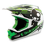 2014 Answer Evolve Helmet - Skullcandy III - Utility ATV Off Road Helmets