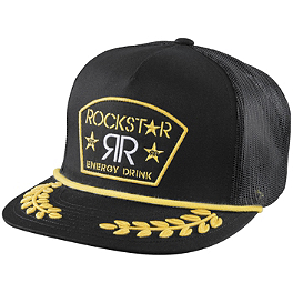 Answer Rockstar Captain Snapback Hat - Factory Effex JGR Emblem Flexfit Hat
