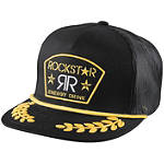 Answer Rockstar Captain Snapback Hat - Answer Motorcycle Mens Casual