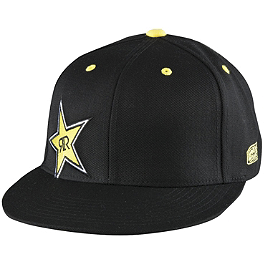 Answer Rockstar Fundamental Snapback Hat - Answer Rockstar Overspray Hoody