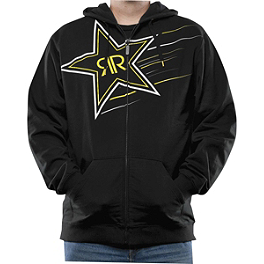 Answer Rockstar Supernova Zip Hoody - One Industries Rockstar Shattered Zip Hoody