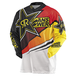 2014 Answer Rockstar Vented Jersey - 2012 One Industries Carbon Jersey - Napalm