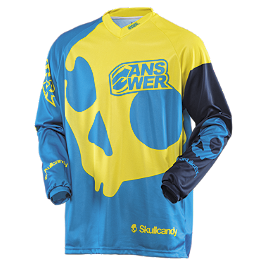 2014 Answer Skullcandy Jersey - 2014 Answer Skullcandy Gloves