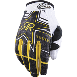 2013 Answer Youth Rockstar MSN Collaboration Gloves - 2013 Fox Youth Dirtpaw Gloves - Rockstar