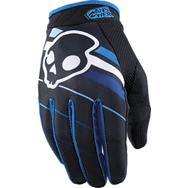 2013 Answer Youth Skullcandy EQ Gloves - 2013 Troy Lee Designs Youth Air Gloves