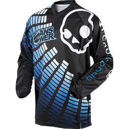 2013 Answer Youth Skullcandy EQ Jersey - 2011 Fly Racing Youth Kinetic Jersey - Flash