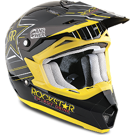 2014 Answer Youth Nova Helmet - Rockstar V - 2013 Fox Youth V1 Helmet - Rockstar