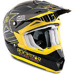 2014 Answer Youth Nova Helmet - Rockstar V - Answer Dirt Bike Protection