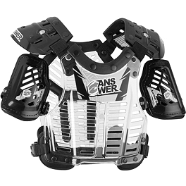 2013 Answer Pee-Wee Overspray Deflector - 2014 Thor Child's Quadrant Chest Protector