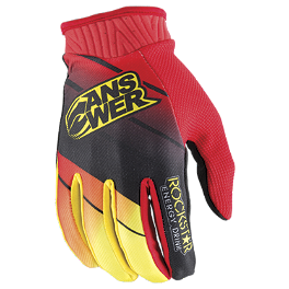 2014 Answer Youth Rockstar Gloves - 2014 MSR Youth Metal Mulisha Optic Gloves