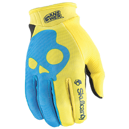 2014 Answer Youth Skullcandy Gloves - 2014 MSR Youth Metal Mulisha Optic Gloves
