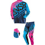 2014 Answer Girl's Syncron Combo - Answer Dirt Bike Pants, Jersey, Glove Combos