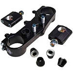 Applied Wrap Top Clamp - Black - All Applied Dirt Bike Products