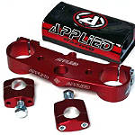 Applied Wrap Top Clamp - Red - All Applied Dirt Bike Products