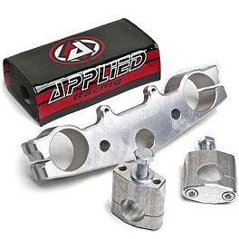 Applied Works Top Clamp - Silver - 1995 Yamaha YZ80 Applied Works Top Clamp - Silver
