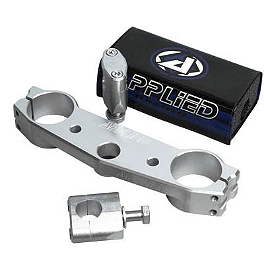 Applied Works Top Clamp - Silver - Applied Works Top Clamp With Renthal Fat Bar Combo