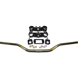 Applied Factory R/S Triple Clamp Set With Pro Taper Evo Handlebar Combo - Applied Factory R/S Triple Clamp Set With Pro Taper Contour Handlebar Combo
