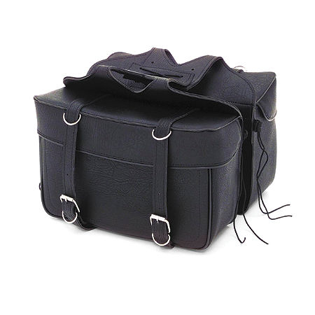 All American Rider Ameritex Extra Large Box Style Saddlebags - Main