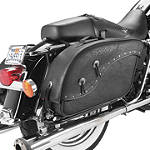 All American Rider Ameritex XXL Futura 2000 Detachable Slant Saddlebags - All American Rider Cruiser Luggage and Racks
