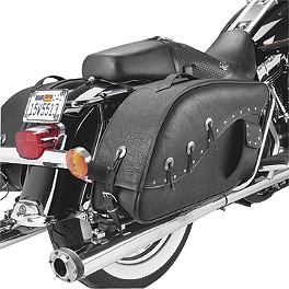 All American Rider Ameritex XXXL Futura 2000 Detachable Slanted Saddlebags - All American Rider Ameritex Large Tool Bag With Velcro