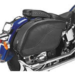 All American Rider Ameritex XL Futura 2000 Detatchable Slanted Saddlebags - All American Rider Cruiser Luggage and Racks