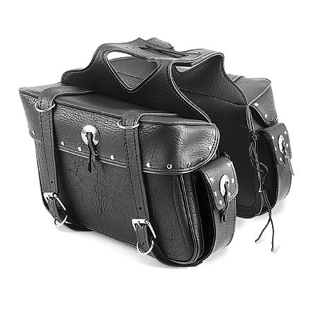 All American Rider Ameritex Large Box Saddlebags With Pockets - Main