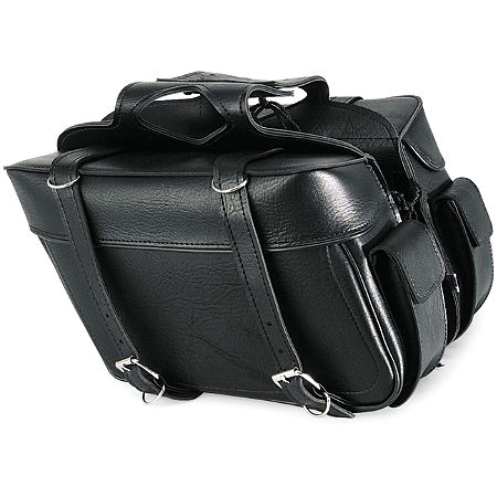 All American Rider Ameritex XL Box Saddlebags With Pockets - Main