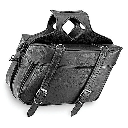 All American Rider Ameritex Extra Large Box Slant Saddlebags - Main