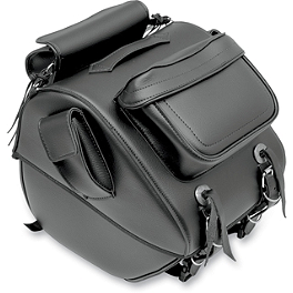All American Rider Trunk Rack Bag With Exterior Pockets - All American Rider Trunk Rack Bag