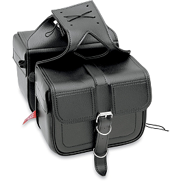 All American Rider Flap-Over Saddlebags - All American Rider Slant Flap-Over Saddlebags