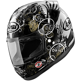Arai Corsair V Helmet - Fiction - Arai Corsair V Helmet - Crutchlow Monster