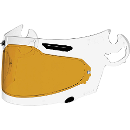 Arai SAI Pinlock Insert - Sargent World Sport Performance Seat With Yellow Welt