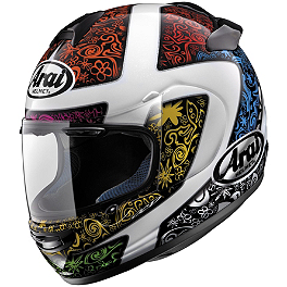 Arai Vector-2 Helmet - Bright - Arai Vector 2 Helmet - Thrill