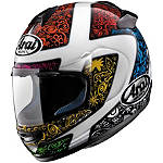 Arai Vector-2 Helmet - Bright - Full Face Motorcycle Helmets
