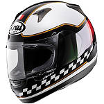 Arai RX-Q Helmet - Italy Flag - Arai Motorcycle Helmets and Accessories